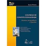 Livro - Controle de Constitucionalidade - Doutrina, Jurisprudência e Questões
