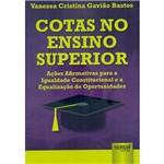 Livro - Cotas no Ensino Superior