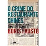 Livro - Crime do Restaurante Chinês, o