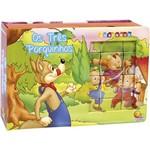 Livro - Cubinhos: os Tres Porquinhos (Em Quebra-cabecas)