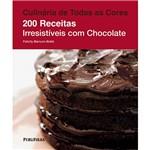 Livro - Culinária de Todas as Cores: 200 Receitas Irresistíveis com Chocolate