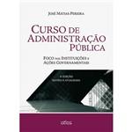 Livro - Curso de Administração Pública