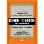Livro - Curso de Contabilidade para não Contadores - para as Áreas de Administração, Economia, Direito e Engenharia (Livro de Exercícios)
