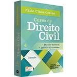 Livro - Curso de Direito Civil: Direito Autoral, Direitos das Coisas - Vol. 4
