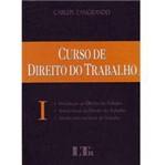Livro - Curso de Direito do Trabalho - Volume 1