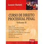 Livro - Curso de Direito Processual Penal Vol. II