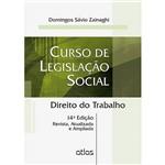 Livro - Curso de Legislação Social