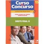 Livro - Curso e Concurso: Direito Penal 3, Vol. 15