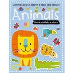 Livro de Atividades e Adesivos - Animais