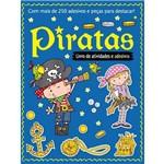 Livro de Atividades e Adesivos - Piratas