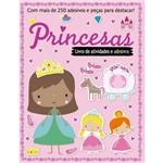 Livro de Atividades e Adesivos - Princesas