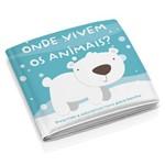 Livro de Banho Infantil Modelo 2 Educativo - Multikids