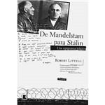 Livro - de Mandelstam para Stálin - um Epigrama Trágico