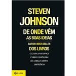 Livro - de Onde Vêm as Boas Ideias