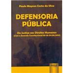 Livro - Defensoria Pública