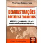 Livro - Demonstrações Contábeis e Financeiras: Aspectos Essenciais à Luz dos Novos Padrões de Contabilidade