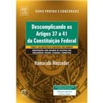 Livro - Descomplicando os Artigos 37 à 41 da Constituição Federal