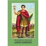 Livro - Devocionário e Novena de Santo Expedito
