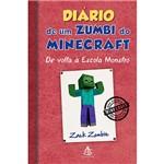 Livro - Diário de um Zumbi do Minecraft: de Volta à Escola Monstro