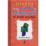 Livro - Diário de um Zumbi do Minecraft: um Desafio Assustador