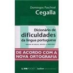 Livro - Dicionário de Dificuldades da Língua Portuguesa