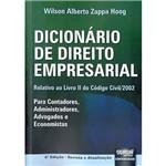 Livro - Dicionário de Direito Empresarial