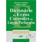 Livro - Dicionário de Erros Correntes da Língua Portuguesa