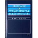 Livro - Dicionário de Termos Médicos Inglês / Português