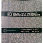 Livro - Dicionário Enciclopédico das Ciências da Linguagem