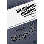 Livro - Dicionário Jurídico - Matéria por Matéria 3ª Edição