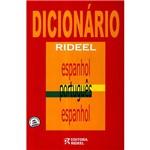 Livro - Dicionário Rideel: Espanhol - Português/Espanhol