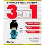 Livro - Diconário Visual de Bolso: 3 em 1