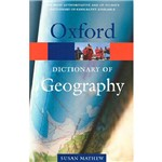 Livro - Dictionary Of Geography