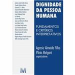 Livro - Dignidade da Pessoa Humana