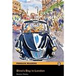 Livro - Dino's Day In London - Penguin Readers