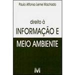 Livro - Direito à Informação e Meio Ambiente