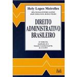 Livro - Direito Administrativo Brasileiro