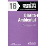 Livro - Direito Ambiental - Coleção Resumos para Concursos - Vol.16