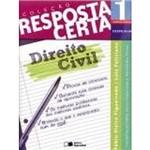 Livro - Direito Civil - Coleção Resposta Certa