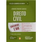 Livro - Direito Civil: Concursos e OAB - Coleção Elementos do Direito - Vol. 4