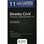 Livro - Direito Civil: Obrigações e Responsabilidade Civil - Volume 11