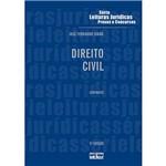 Livro - Direito Civil - Série Leituras Jurídicas - Provas e Concursos