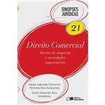 Livro - Direito Comercial 21: Direito de Empresa e Sociedades Empresárias - Sinopses Jurídicas