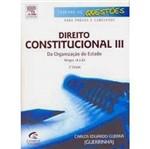 Livro - Direito Constitucional III - Série Caderno de Questões para Provas e Concursos
