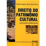 Livro - Direito do Patrimônio Cultural: Autonomia e Efetividade