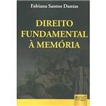 Livro - Direito Fundamental à Memória