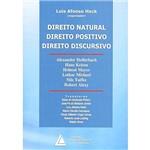 Livro - Direito Natural, Direito Positivo, Direito Discursivo