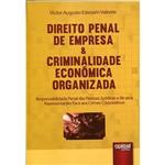 Livro - Direito Penal de Empresa & Criminalidade Econômica Organizada