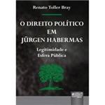 Livro - Direito Político em Jürgen Habermas, o - Legitimidade e Esfera Pública