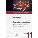 Livro - Direito Processual Penal - Procedimentos Criminais, Sentenças, Recursos e Execução Penal - Vol. 11
